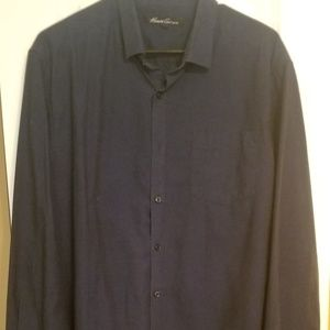 Kenneth Cole Long Sleeve Button Up Shirt